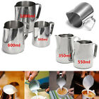 350-1000ml Stainless Steel Espresso Coffee Jug Craft Latte Milk Frothing Pitcher