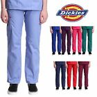 Dickies Pull-on Cargo Scrub Pants Women's Medical Uniform Bottom 86106