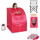 2L Portable Steam Sauna Spa Detox Weight Loss Slimming Bath Indoor Chair Inside