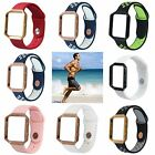 Fitbit Blaze Smart Watch Silicone Replacement Band with Frame Small / Large