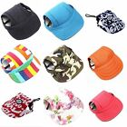 Canvas Small Pet Dog Cat Baseball Visor Hat Puppy Cap Outdoor Sunbonnet Hund Hut