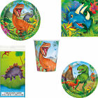 Dinosaur Prehistoric Birthday Party Tableware Tablecover Plates Cups & Napkins