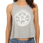 Converse Damen Chuck Patch Swing Tanktop, grau, Logo-Patch, NEU