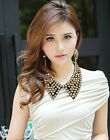 Fashion Gold Silver Pearl Bead Tassels Detachable False Collar Necklace