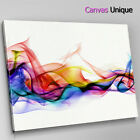 AB400 multicolour smoke photo Abstract Canvas Wall Art Framed Picture Print