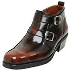 Epicsnob Mens Shoes Genuine Cow Leather Dress Formal Casual Ankle Belt Boots