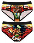Harebrained Period Panties Surfing the Crimson Wave Menstrual Humor Geek Briefs