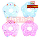 UK Inflatable Baby Infant Swimming Neck Float Ring Safety Adjustable 1-18 Months