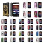 Huawei Ascend XT [AT&T GoPhone H1611] Dual Armor ShockProof Case  Design [F]