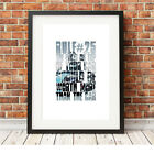 Team Sky ❤ CYCLING ❤ bike poster art Limited Edition Print 5 sizes #43 rapha