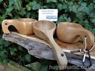 Curly Handled Kuksa Nordic Lapland Finland Scandinavian Ancient saami Wood Cup
