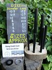 7 Sizes Firesteel optional scrapers Ferro Ferrocerium Rod Bushcraft Survival