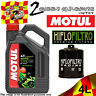 4L MOTUL 5000 10W40 OIL AND HF303RC FILTER TO FIT KAWASAKI MOTOR CYCLE 1