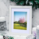 """Set of 25 11""""x14"""" Picture Photo Mats With White Core Bevel Cut for 8x10 Photos"""