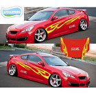 2X Universal Car Graphics Decals Scratch Marks Whole Body Stickers Car-Styling