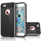 Hybrid Rugged Shockproof Rubber Protective Hard Case Cover For iPhone 5 SE 5S