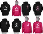 PERSONALISED Dance / Gymnastics Hoodie - 30 Colours Available **UK STOCK**