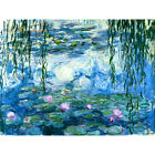 Claude Monet Water Lilies HD Canvas Print Oil Painting  Wall Decor 6 size