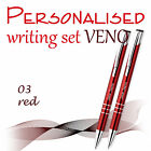 Personalised+2-element+set%3A+ball+pen%2C+pencil+%2AVENO%2A+black%2Fblue+ink+%2A+gift+box