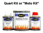 Hot Rod Low Gloss Satin Single Stage Solid Color, 1.5 Quart Moto Paint Kit
