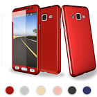 Luxury Hard Case+Tempered Glass Screen Protector Cover For Samsung Galaxy J7 J5