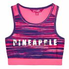 Pineapple Kids Girls' Pink Space Dye Print Crop Top From Debenhams