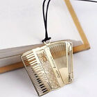 Gold-plated Bookmark Piano Guitar Harp Trumpet Creative Music Instrument