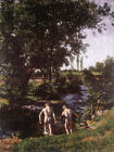 Classic Hugarian Art Print: Summer, 1901 by Karoly Ferenczy