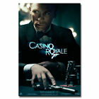12146 James Bond Casino Royale Spy Shooting Movie Art Poster AU $67.95 AUD