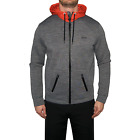 New Hugo Boss Green Sawotech Hooded Jacket - Grey Melange