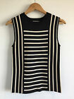 [ COUNTRY ROAD ] striped milano knit top [size: S,M,L ]  $119.00 NEW WITH TAG