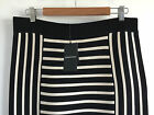 [ COUNTRY ROAD ] striped milano knit skirt [size: M,L ] $159 NEW WITH TAG