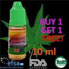 CANNABIS Weed Flavour E-Liquid Vapour Juice 0MG Cig Pen 10ml Shihsa Vaping Oil
