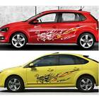 2PCS Car Styling Dragon Stickers Whole Body Door Stickers Decals Cover
