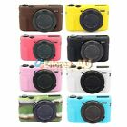 【AU】Soft Silicone Camera Case Cover Protector Skin Bag For Canon G7X Mark II