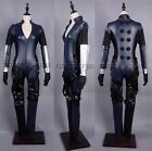 Resident Evil 5 Jill Valentine Cosplay Leather Costume:FWju7