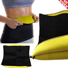 Hot Thermo Sweat Waist Trainer Tummy Control Cincher Body Slimmer Shaper US L031