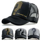 Mens Unisex Golf Mesh Hat Sports Trucker Visor Adjustable Snapback Baseball Cap