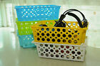 plastic baskets Box High quality  3 for 13.99