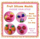 Fruit silicone fondant moulds - CHOOSE YOUR STYLE - cake cupcake clay