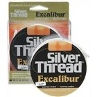 EXCALIBUR SILVER THREAD COPOLYMER 350YD CLEAR FISHING LINE (CHOOSE SIZE)