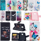 Flip Stand Cover Card Wallet PU Leather Case Pouch For Huawei Smartcellphones