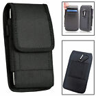 Rugged Nylon Horizontal Wallet Belt Pouch Cover For Various Phones PDA IPOD <br/> Apple Samsung LG Sony Nokia Motorola Huawei Oneplus