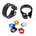 Mountain Bike 31.8mm 34.9mm Seat Post Clamp Collar Fixed Lock Seatpost Clamp NEW