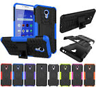 Shockproof Heavy Duty Armor Case Hard Stand Cover Skin for Meizu 3 M2 M3 M5 Note