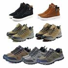 MENS BOOTS WATERPROOF MEN WORK BOOTS SHOES HIKING WINTER ANKLE TRAINERS BOOTS