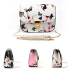 Women Floral Mini Chain Bag Clutch Shoulder Bag Tote Purse Handbag Messenger bag