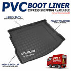 BMW 5 Series G30 Saloon 2017+ Tailored PVC Boot Liner / Tray/ Mat [V]