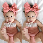 USStock Newborn Baby Girls Romper Jumpsuit Bodysuit Infant Clothes Outfits Set фото