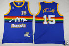 New Denver Nuggets #15 Carmelo Anthony Basketball Jerseys Blue Size: S - XXL on eBay